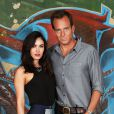 Megan Fox posa com Will Arnett em premiére do filme 'As Tartarugas Ninja'