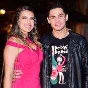 Lucas Veloso planeja casamento com Nathalia Melo: 'Faustão é o padrinho'