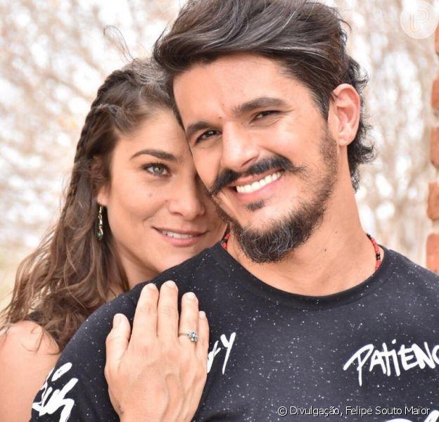 Casamento à vista! Priscila Fantin e Bruno Lopes ficam noivos em Pernambuco nesta quarta-feira, dia 05 de dezembro de 2018