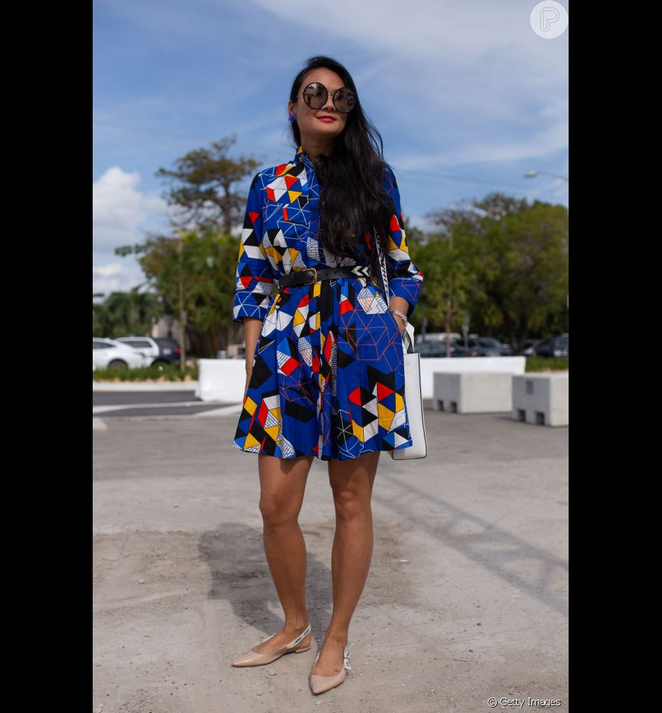 As estampas no street style da Miami Art Basel