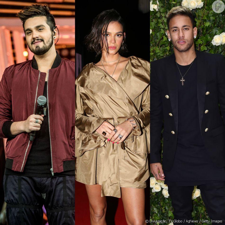 Luan Santana comentou neste domingo, 9 de dezembro de 2018, a saia justa que enfrentou com Neymar após revelar que já ficou com Bruna Marquezine