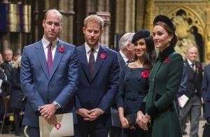 Grupo da família (real)! Meghan, Harry, Kate e William trocam mensagens em app