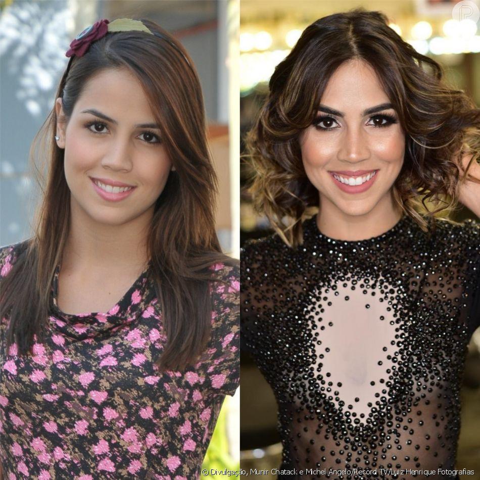 Pérola Faria roubou a cena como a Vitória da novela 'Rebelde'. No início deste mês, a atriz venceu a quarta temporada do 'Dancing Brasil'