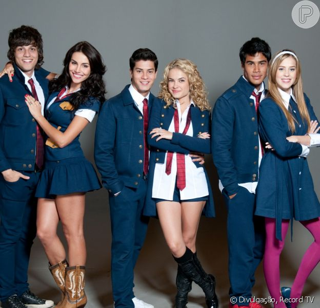Novela 'Rebelde' foi exibida entre 2011 e 2012 e teve como protagonistas Chay Suede, Micael, Sophia Abrahão, Lua Blanco , Arthur Aguiar e Mel Fronckowiak