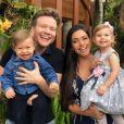 Michel Teló tem orgulho da família que construiu com Thais Fersoza