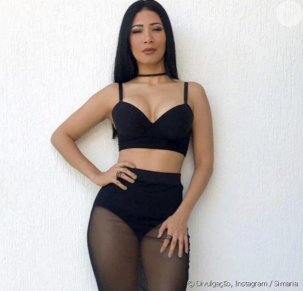 Simaria, da dupla com Simone, postou foto de lingerie e hot pant nesta quinta-feira, 20 de dezembro de 2018