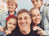 Angélica minimiza rótulo de família perfeita com filhos e Huck:'Dia a dia comum'