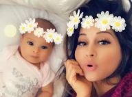 Mayra Cardi exibe a filha, Sophia, e web vibra: 'Legal que mostrou o rostinho'
