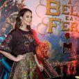 Paolla Oliveira divulga o filme 'A Bela e a Fera'