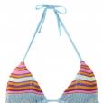 Patricia Poeta usou biquíni com sutiã de tricô, de R$163, da marca Cecília Prado