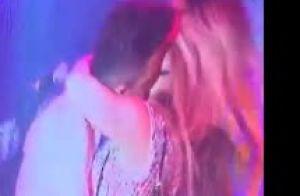 Gusttavo Lima beija Andressa Suita durante show de réveillon em Goiás. Vídeo!