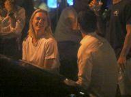 Com seguranças, Fiorella Mattheis e namorado curtem encontro com amigos no Rio