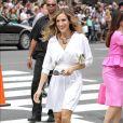 High heels: Sarah Jessica Parker de vestido