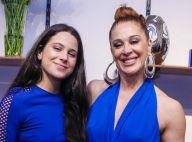Claudia Raia elogia filha em foto com humor: 'Tem meu nariz atual de plástica'