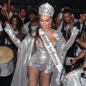 Sabrina Sato é coroada rainha de bateria da Gaviões da Fiel: 'Histórico'. Fotos!
