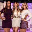 Ivete Sangalo, Claudia Leitte e Sabrina Sato se divertem em evento em Salvador, Bahia