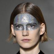 As maquiagens coloridas e metalizadas das passarelas de Paris para o Carnaval