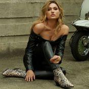 Sasha estrela campanha pré-outono e mostra como usar a bota estilo cowboy