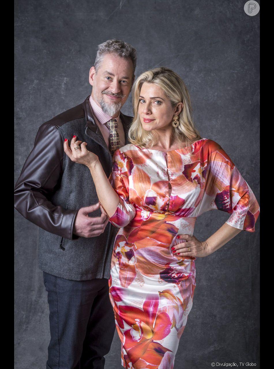 Eurico (Dan Stulbach) é curado de maldição com a ajuda da mulher, Marilda (Leticia Spiller), e encara maratona de sexo com ela nos próximos capítulos da novela 'O Sétimo Guardião'