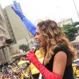 O bloco Pipoca da Rainha, de Daniela Mercury, promete arrastar multidão de cerca de 100 mil pessoas neste carnaval em São Paulo, no dia 10 de março de 2019, às 15h, na Rua da Consolação