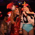 Direto do nordeste, Elba Ramalho protagoniza o Bloco Frevo Mulher neste carnaval no dia 23 de fevereiro de 2019, às 12h30, no Parque Ibirapuera, em São Paulo. Na imagem, Elba e  Roberta Sá se apresentam em show na  Queirogada