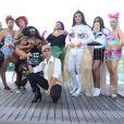 Anitta reuniu famosos no Bloco das Poderosas no Carnaval de 2018 no Rio de Janeiro