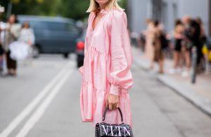 O vestido rosa foi atualizado! Veja 5 formas de usar a peça com muito estilo!