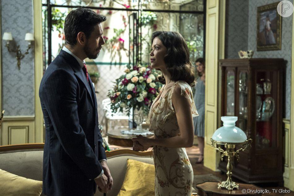Cris Júlia (Vitória Strada) concorda em se casar com Gustavo Bruno (João 5292da7f42b4a