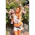 Exibindo o corpo sarado, Giovanna Ewbank veste short e top cropped