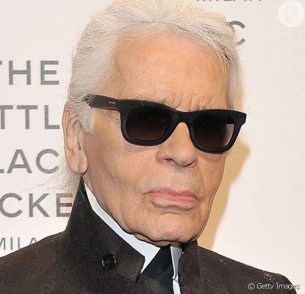 Karl Lagerfeld era diretor criativo da grife Chanel e estava internado há aproximadamente duas semanas