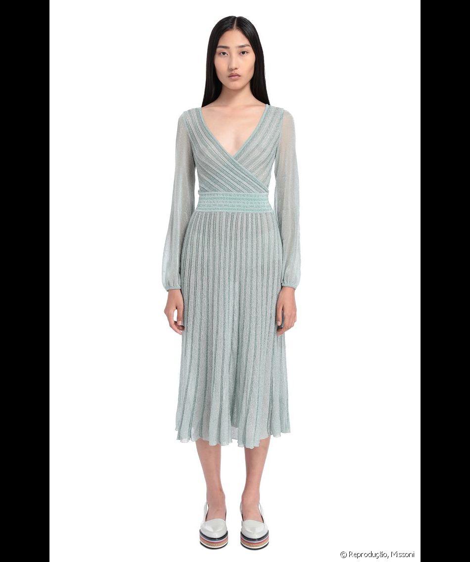 16dfe29d8 O modelo do vestido da Missoni usado por Kate Middleton é tendência para  festas