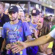 Neymar dividiu o mesmo camarote que a ex-namorada Bruna Marquezine