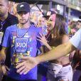 Neymar curtiu Carnaval do Rio de Janeiro com amigos nesta segunda-feira, 4 de março de 2019