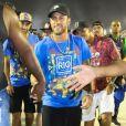 Neymar marcou presença no Carnaval do Rio de Janeiro