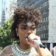 Ludmilla levou aproximadamente 1,2 milhão para o seu bloco 'Frevo da Lud', que circulou nas ruas do Centro do Rio
