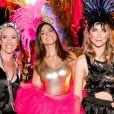 Bel Kutner, Luisi Valadao e Anne Lottermann se divertiram no Baile da Arara