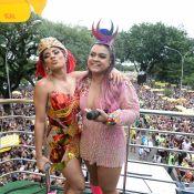 Preta Gil recebe Lexa em bloco após cantora ser enganada por produtor de trio