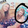 Marina Ruy Barbosa usou foto de quando era criança para ironizar as fake news