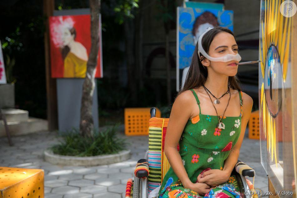 Amanda (Pally Siqueira) diz que precisa ser hospitalizada e, surpreende os amigos ao retornar para as aulas, no capítulo de quinta-feira, 28 de março de 2019 da novela 'Malhação: Vidas Brasileiras'