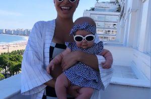 Tal mãe, tal filha! Sabrina Sato e Zoe usam óculos de sol combinando em clique
