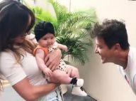 It baby girl! Filha de Sabrina Sato, Zoe combina 3 looks em passeio à Record
