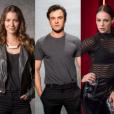 Paolla Oliveira, Nathalia Dill e Sergio Guizé viverão triânulo amoroso na novela 'A Dona do Pedaço'.