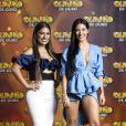 Simone e Simaria comentam sobre a possibilidade de flashback com ex contatinhos nesta quarta-feira, dia 03 de abril de 2019