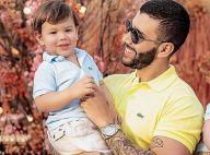 Dueto familiar! Gusttavo Lima toca violão e filho acompanha pai cantando. Vídeo!