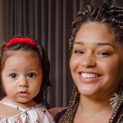 Filha de Juliana Alves encanta em foto após roubo de celular na França: 'Enorme'