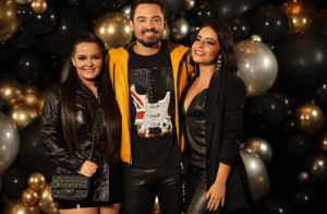 Fernando Zor curte aniversário com Maiara e beija sertaneja em festa. Fotos!