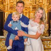 Filho de Karina Bacchi terá nome de Amaury Nunes em certidão de nascimento