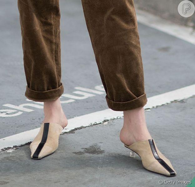 Sapato nude é chic! Saiba como incluir o calçado nos looks de inverno 2019