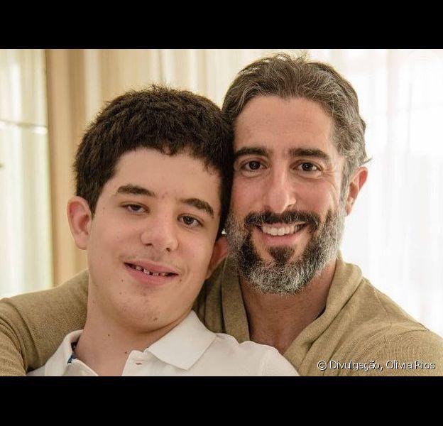 Marcos Mion compartilhou vídeo com filho Romeo no Instagram nesta quarta-feira, 1 de maio de 2019