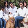 Casado com Suzana Gullo, Marcos Mion também é pai de Donatella e Stefano